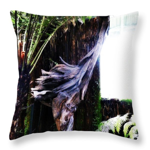 Looking Through The Window Of Extinction Throw Pillow by Steve Taylor