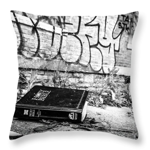 Loss of Faith Throw Pillow by Paul Velgos