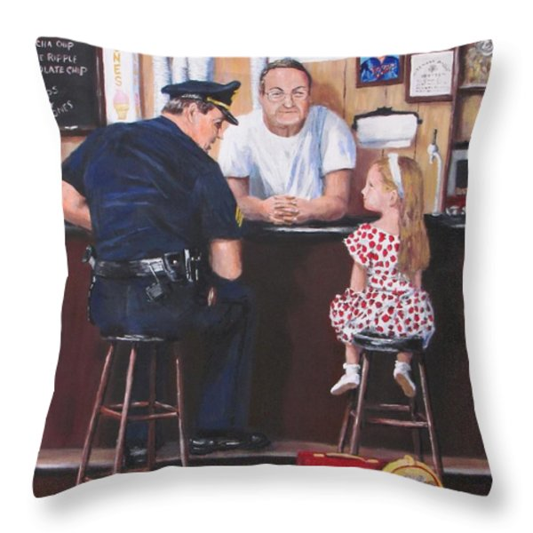 Lost And Found Throw Pillow by Jack Skinner