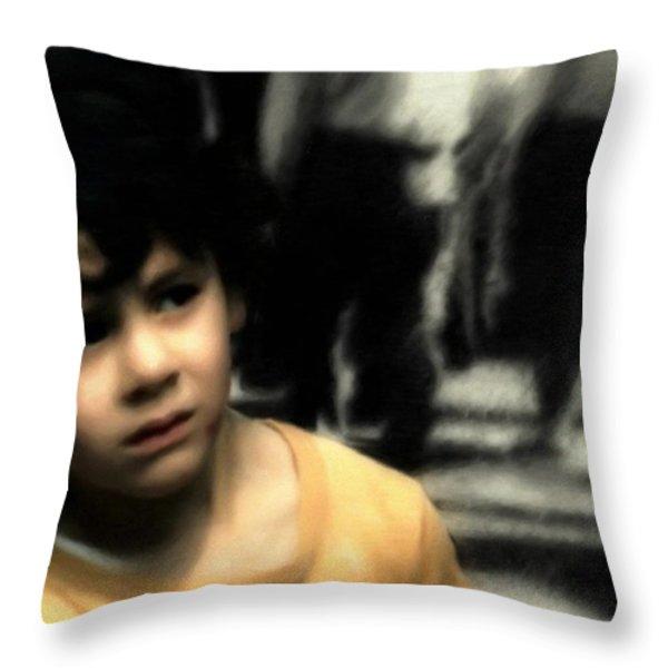 Lost Throw Pillow by Gun Legler