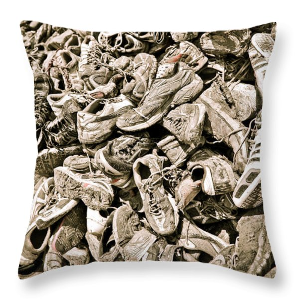 LOST SOULS Throw Pillow by Charles Dobbs