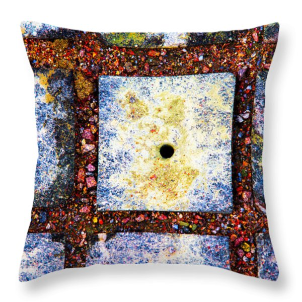 Lot Number 4 Of The Universe Throw Pillow by Alexander Senin