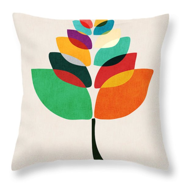 Lotus flower Throw Pillow by Budi Satria Kwan