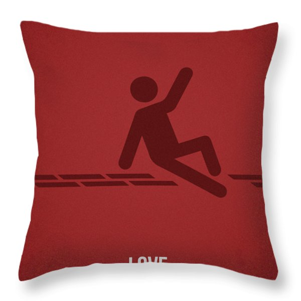 Love Throw Pillow by Aged Pixel