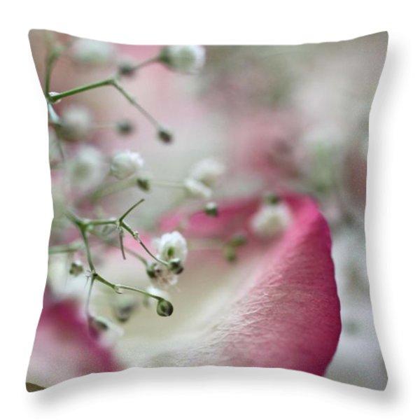 Love Throw Pillow by AR Annahita
