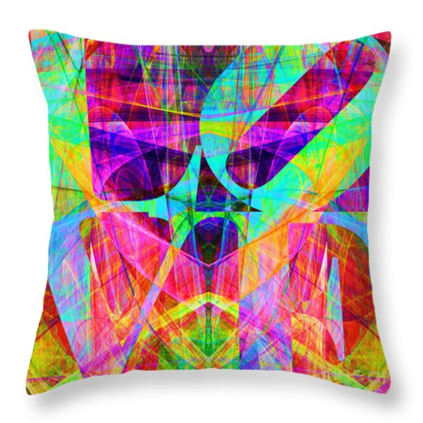 Love Fractals 20130707 Throw Pillow by Wingsdomain Art and Photography