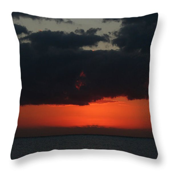Love is a Burning Thing Throw Pillow by Laurie Search