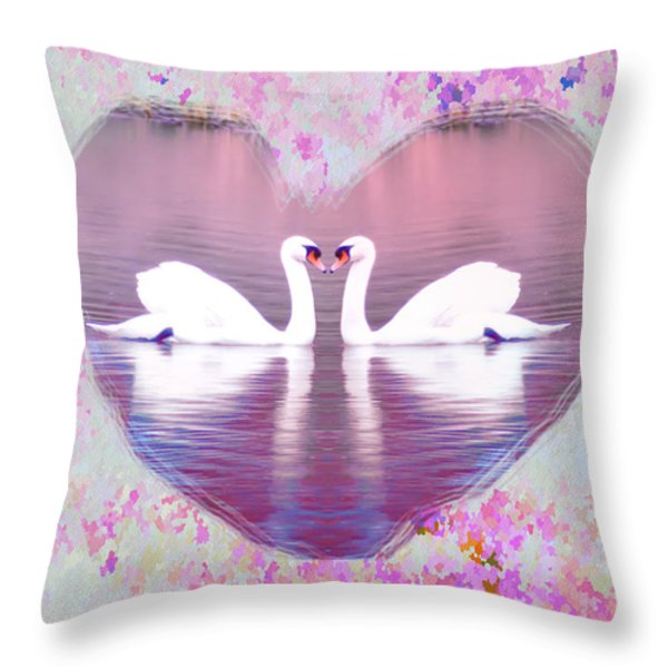 Love is Everywhere Throw Pillow by Bill Cannon
