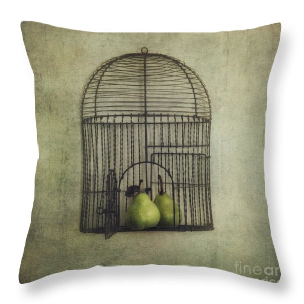 Love Is The Key Throw Pillow by Priska Wettstein