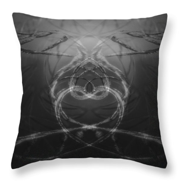 Love Life And Science Throw Pillow by Dan Sproul
