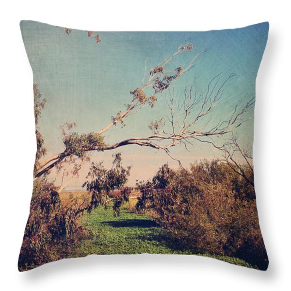 Love Lives On Throw Pillow by Laurie Search