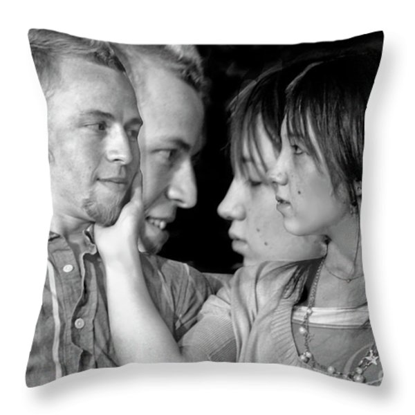 Love Story Throw Pillow by Madeline Ellis