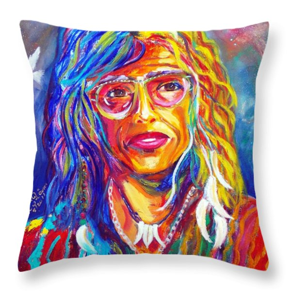 Love Throw Pillow by To-Tam Gerwe