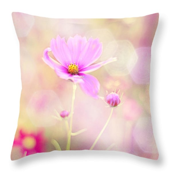 Lovechild Throw Pillow by Amy Tyler