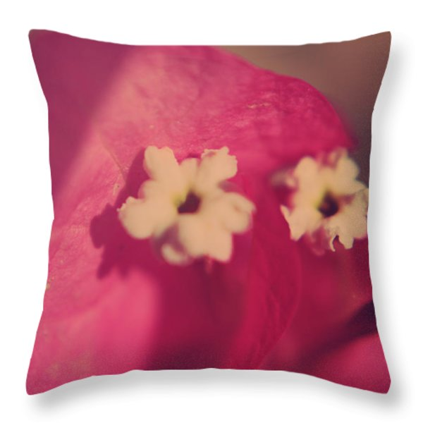 Loved Throw Pillow by Laurie Search