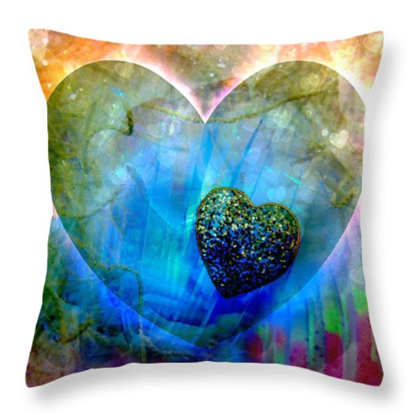 Love's Sighs Throw Pillow by Shirley Sirois