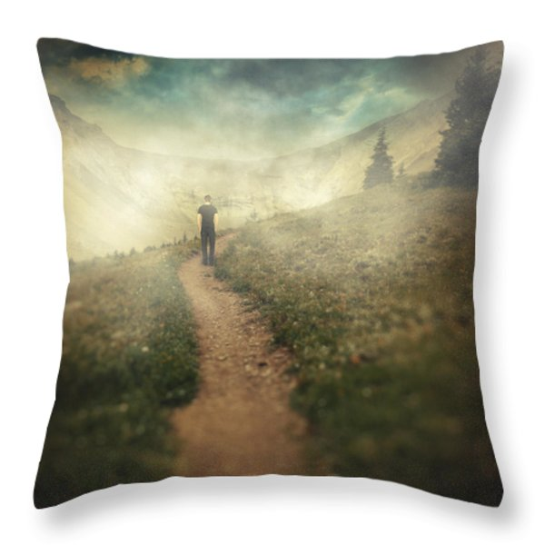 Lucid dream Throw Pillow by Taylan Soyturk
