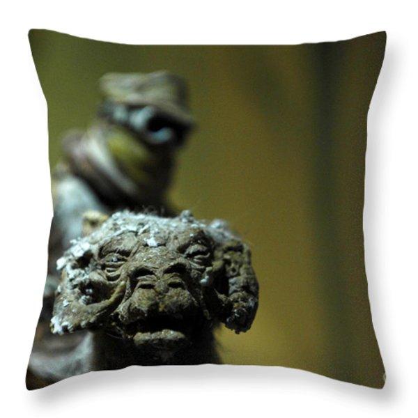 Luke On His Tawn Tawn 3 Throw Pillow by Micah May