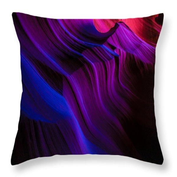 Luminary Peace Throw Pillow by Chad Dutson