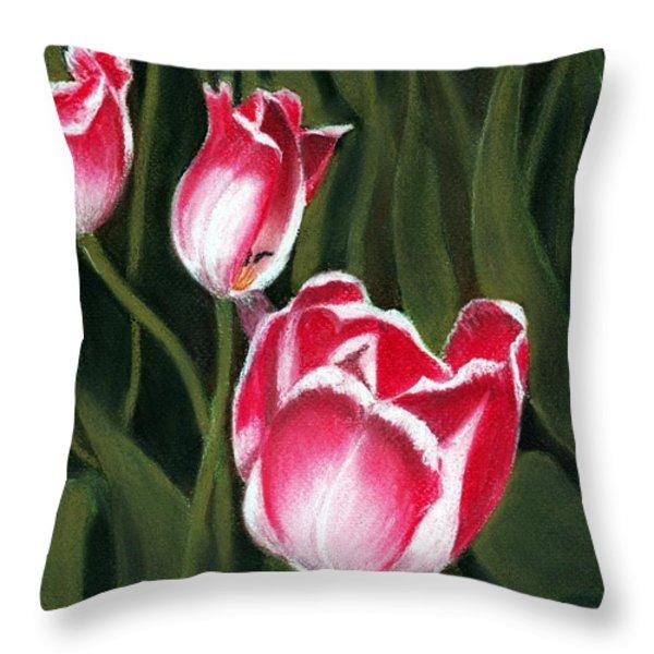 Luminous Throw Pillow by Anastasiya Malakhova