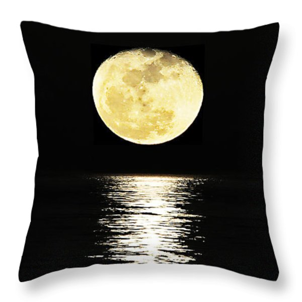 Lunar Lane 03 Throw Pillow by Al Powell Photography USA