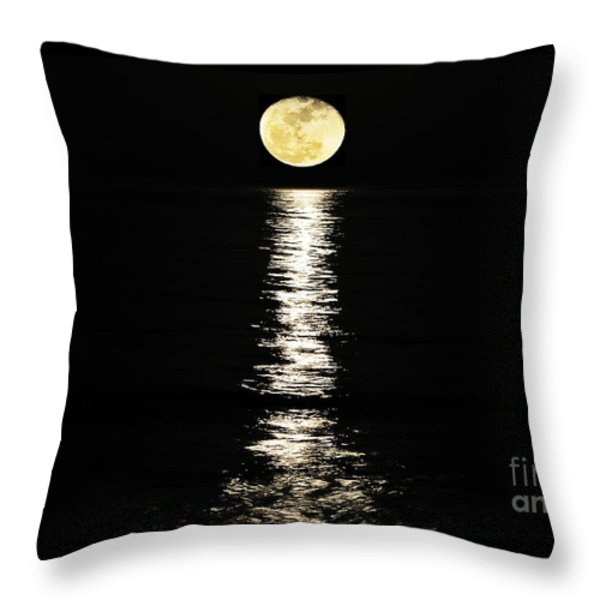 Lunar Lane Throw Pillow by Al Powell Photography USA