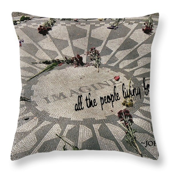 LYRICS quote Throw Pillow by JAMART Photography