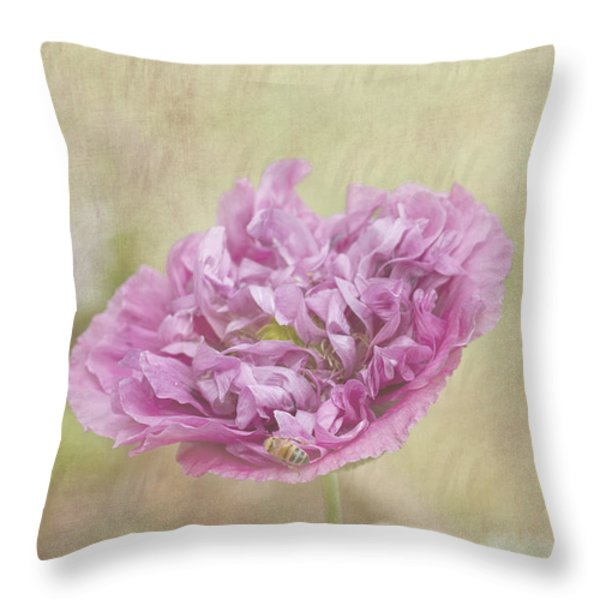 Mabel Throw Pillow by Elaine Teague