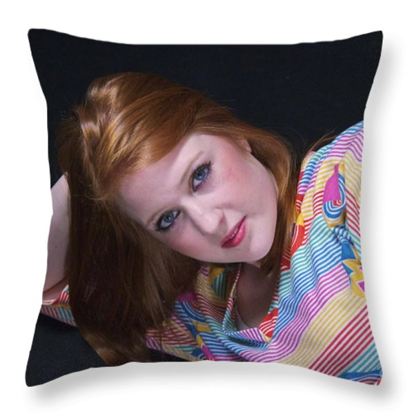 Mackenzie Throw Pillow by Sean Griffin