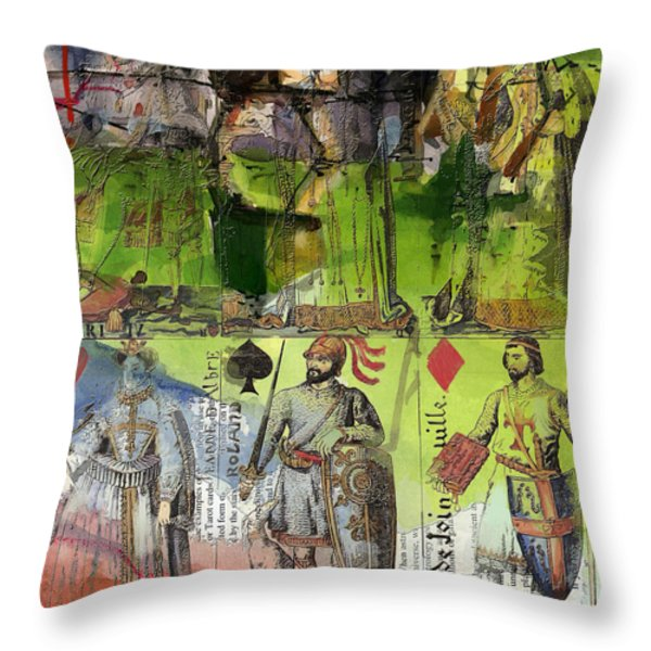 Magic Moonlight Throw Pillow by Corporate Art Task Force