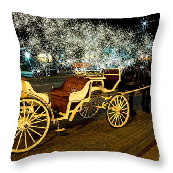 Magic Night Throw Pillow by Jon Burch Photography