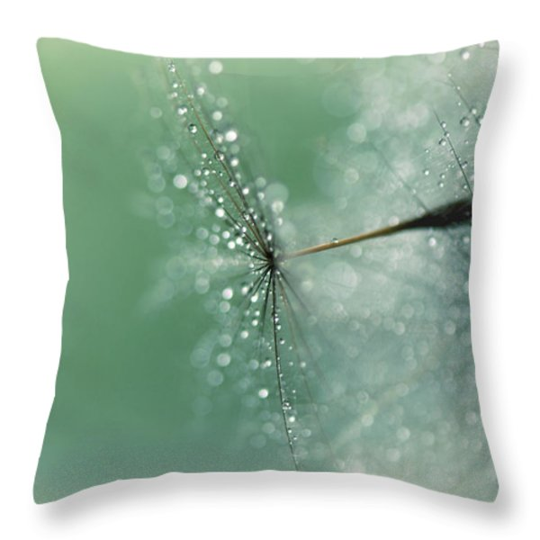 Magical Bokeh Throw Pillow by Lisa Knechtel