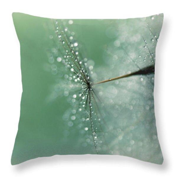 Magical Bokeh Throw Pillow by Lisa Knechtel