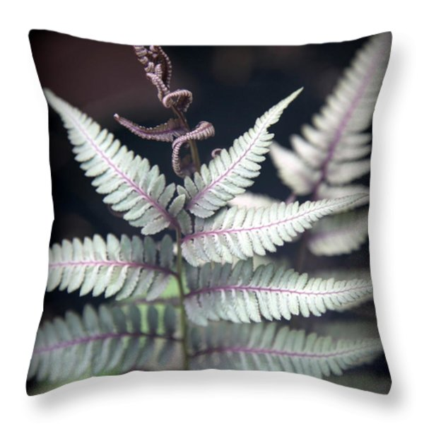 MAGICAL FOREST 2 Throw Pillow by KAREN WILES
