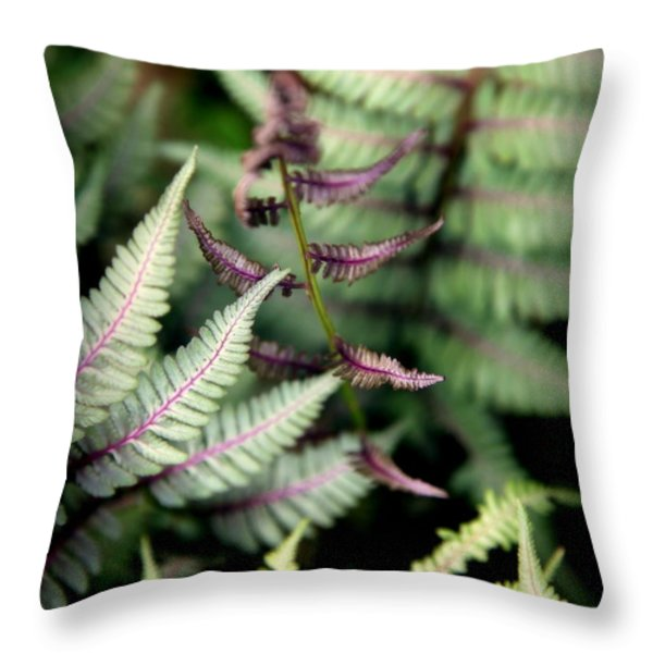 MAGICAL FOREST 3 Throw Pillow by KAREN WILES