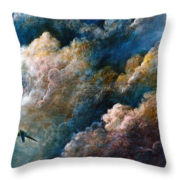 Magical Journey Throw Pillow by Frank Robert Dixon