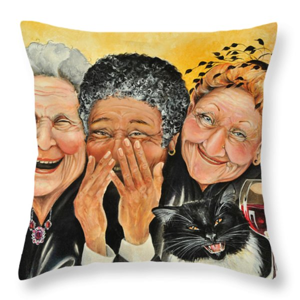 Magical Moment Throw Pillow by Shelly Wilkerson