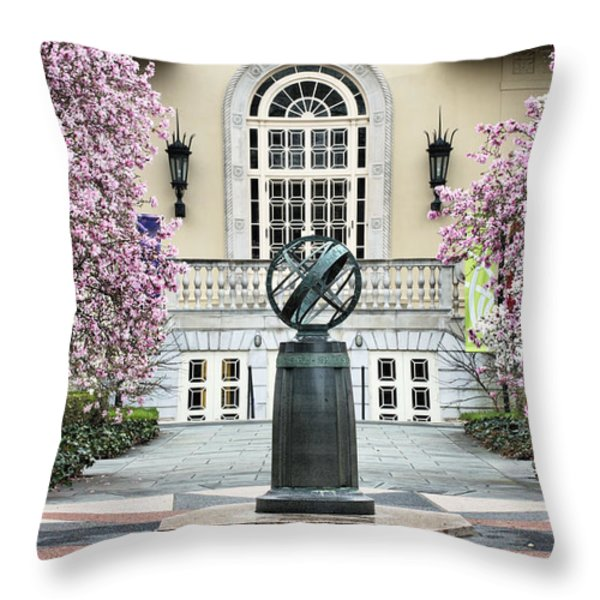 Magnolia Plaza Throw Pillow by JC Findley