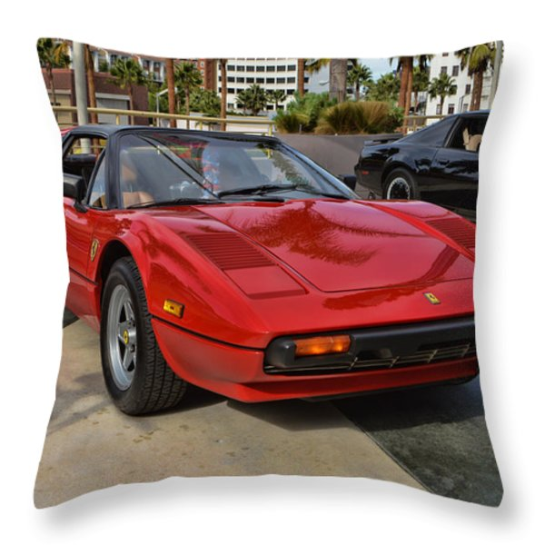 Magnum PI Throw Pillow by Tommy Anderson