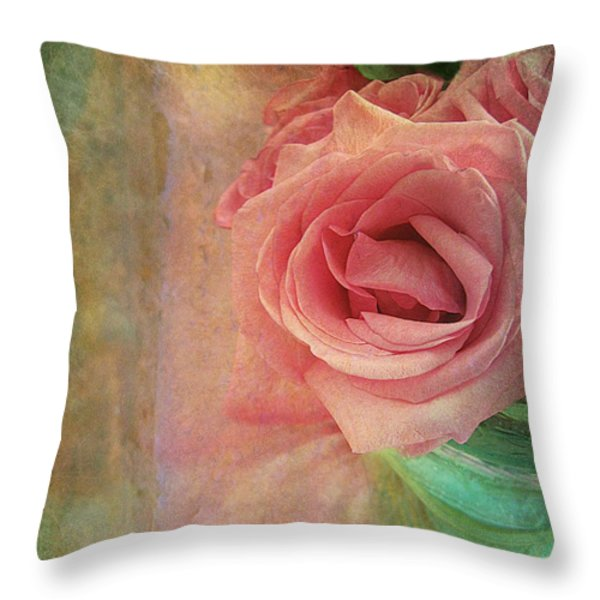 Maid Marion Throw Pillow by Shirley Sirois