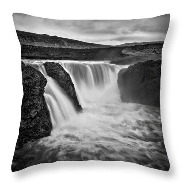 Majesty Of Infernal Throw Pillow by Evelina Kremsdorf