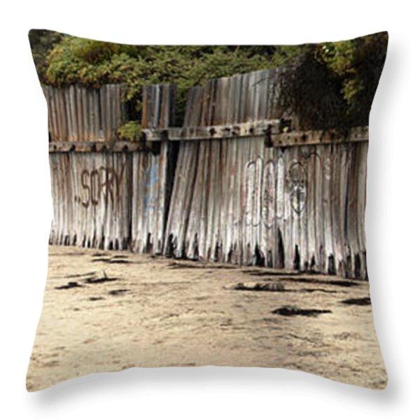Make Art Not War Throw Pillow by Amanda Barcon