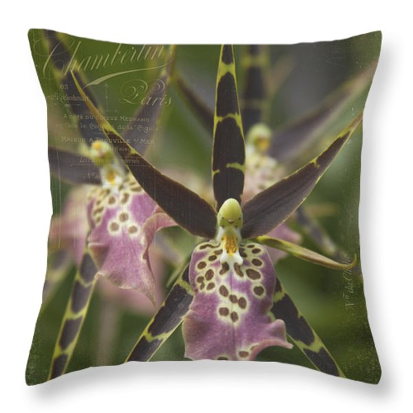 Maliko Dreams Throw Pillow by Sharon Mau
