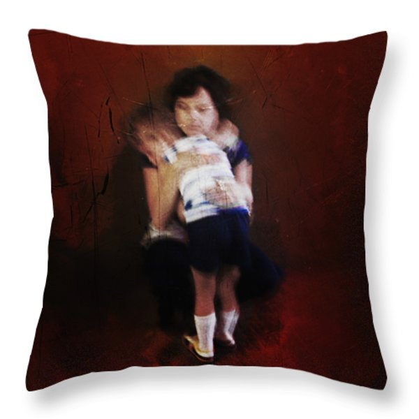 Mamas Love Throw Pillow by Steven  Michael