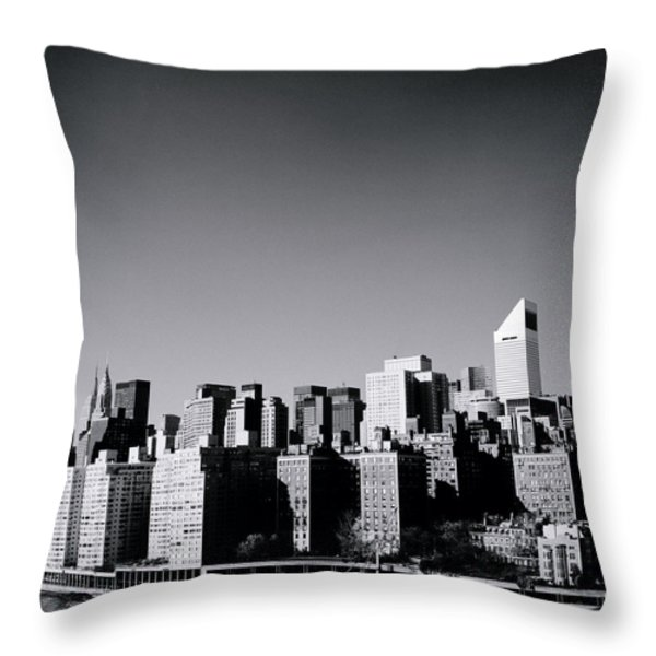 Manhattan Throw Pillow by Shaun Higson