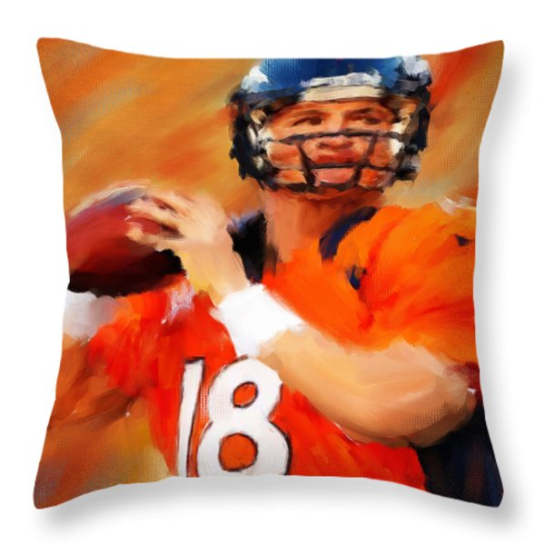 Manning Throw Pillow by Lourry Legarde