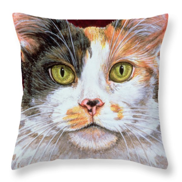 Marigold Throw Pillow by Ditz