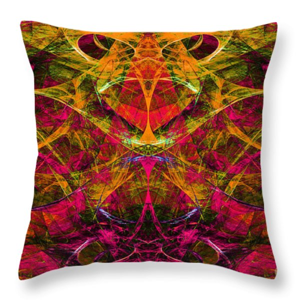 Masquerade 20140128 Throw Pillow by Wingsdomain Art and Photography