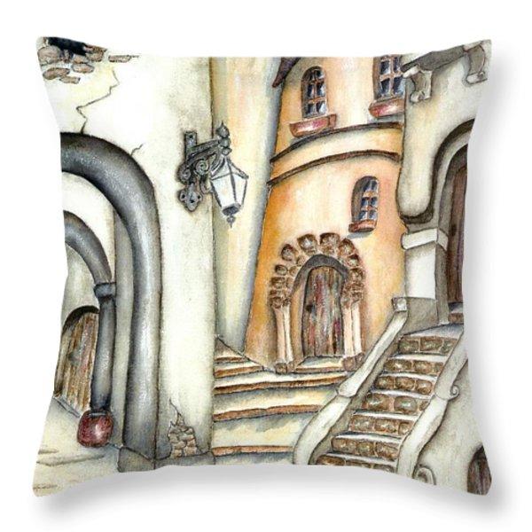 Matera Throw Pillow by Pamela Allegretto