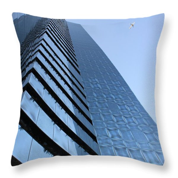Material Freedom Throw Pillow by AR Annahita